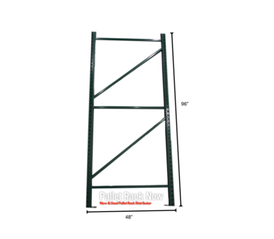 "48"" wide x 96"" High Uprights Pallet Rack"