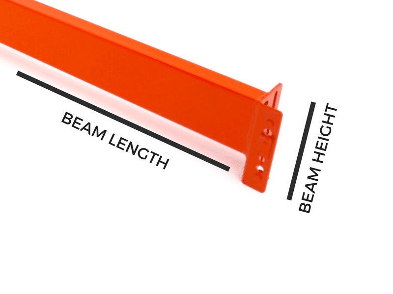pallet rack beam capacity