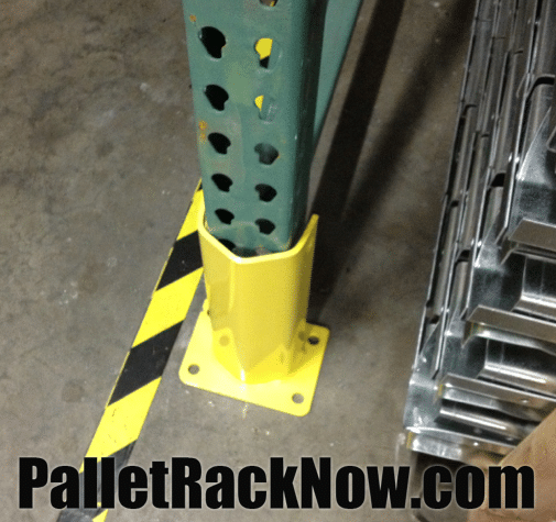 Warehouse Safety Rack Guard