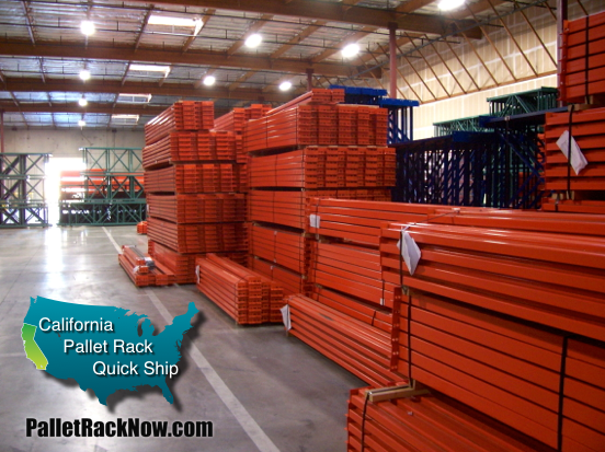 California Pallet Rack Specials